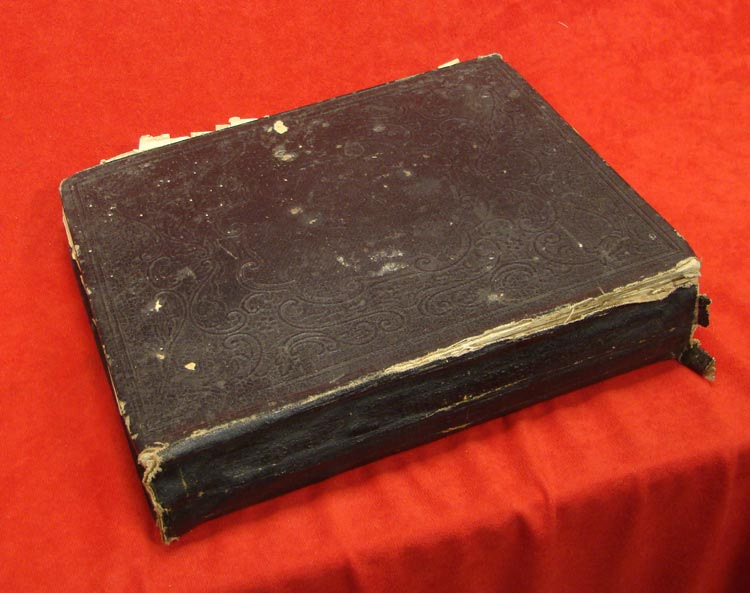 Large Size Family Bible that was Contained Inside fo the Field Desk