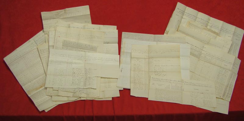 Lists and Lists of the Soldiers of the Company and Their Status